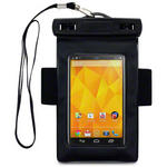 View Item LG Nexus 4 E960 Waterproof Carry Case / Armband - Black
