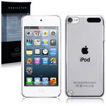 View Item iPod Touch 5 Slim Fit Snap On Case - Clear