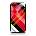 View Item iPhone 4S / 4 Totally Tartan White Fashion Case - Red / White / Black / Yellow