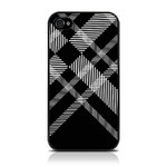 View Item iPhone 4S / 4 Totally Tartan Black Fashion Case - Black / White