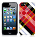 View Item iPhone 5 Totally Tartan White Fashion Case - Red / White / Black / Yellow