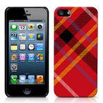 View Item iPhone 5 Totally Tartan Red Fashion Case - Red / Black / Yellow / White