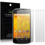 View Item LG Google Nexus 4 Screen Protector Film Case Six Pack By Terrapin