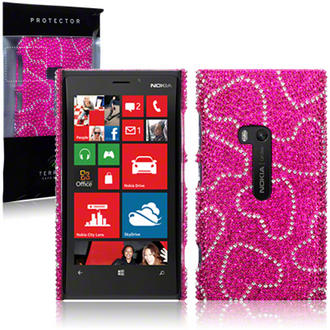 Nokia Lumia 920 Diamante Case Hearts Preview