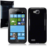 View Item Samsung Ativ S I8750 Gel Skin Case - Solid Black