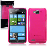 View Item Samsung Ativ S I8750 Gel Skin Case - Hot Pink