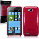 View Item Samsung Ativ S I8750 Gel Skin Case - Red