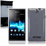 View Item Sony Xperia E TPU Gel Skin Case - Clear
