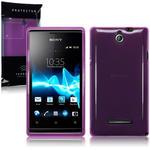 View Item Sony Xperia E TPU Gel Skin Case - Purple