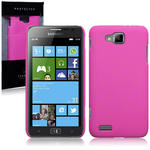 View Item Samsung Ativ S I8750 Slim Armour Hard Cover - Solid Hot Pink