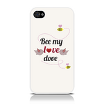View Item Call Candy Bee My Love Dove Case for iPhone 4S/4 / Cream/Black/Red