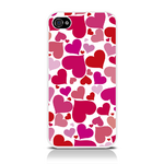 View Item Call Candy Heart Of Glass Case for iPhone 4S/4 / Pink/Red