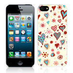 View Item Call Candy Cross My Heart Case for iPhone 5 / Cream/Multi-colour
