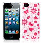 View Item Call Candy Flower Girl Case for iPhone 5 / Light Pink/Pink