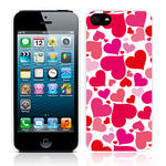 View Item Call Candy Heart Of Glass Case for iPhone 5 / Pink/Red