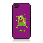 View Item Call Candy Aha Monster Hard Back Case for iPhone 4