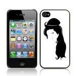View Item Call Candy Back To Black Hard Back Case for iPhone 4
