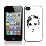 View Item Call Candy Twiggy Hard Back Case for iPhone 4
