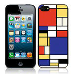 View Item Call Candy Primary Linear Hard Back Case for iPhone 5 / Multicoloured
