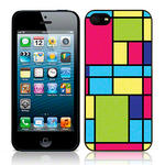 View Item Call Candy Zesty Linear Hard Back Case for iPhone 5 / Multicoloured