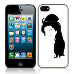 View Item Call Candy Back To Black Hard Back Case for iPhone 5