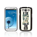 View Item Call Candy Slogan If The Music's Too Loud? Festival Image Hard Back Case for Samsung Galaxy S3 I9300