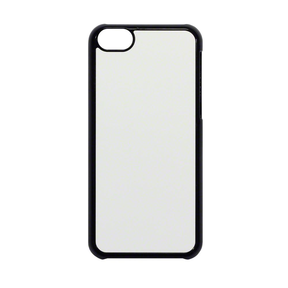 Blank 2D Aluminium Plate sublimation Plastic iPhone 5C ... Iphone 5c White With Black Case