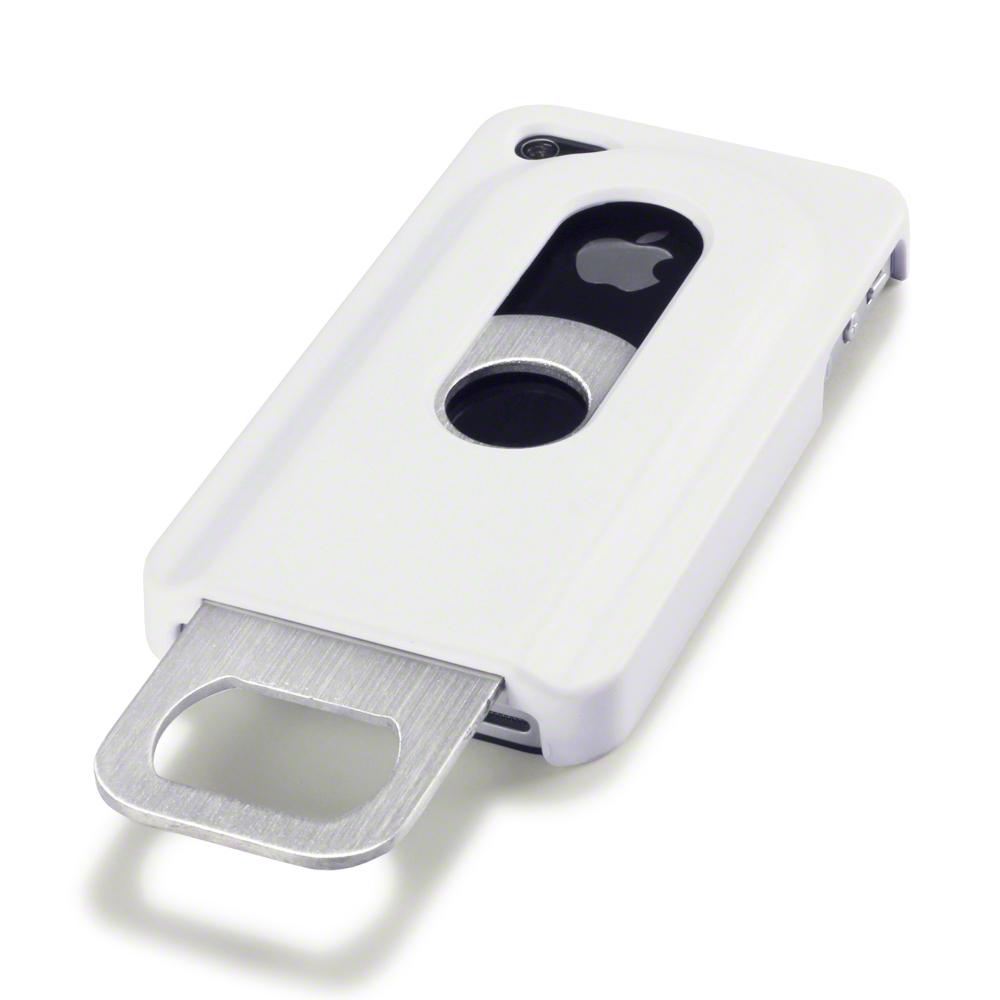 white novely beer bottle opener back cover case for apple iphone 4 iphone 4s ebay. Black Bedroom Furniture Sets. Home Design Ideas