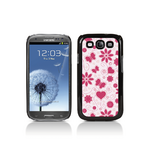 View Item Call Candy Flower Girl Hard Back Case for Samsung Galaxy S3 i9300