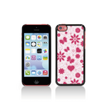 View Item Call Candy Flower Girl Hard Back Case for Apple iPhone 5C