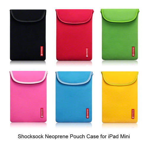 For iPad Mini 2 Retina Display Shocksock Neoprene Pouch Case Sleeve