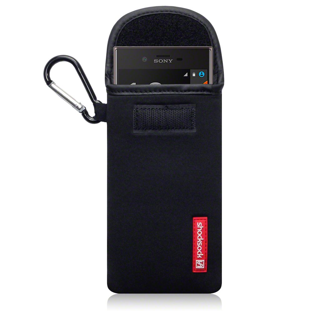 are shocksock sony xperia x neoprene carry case black also use