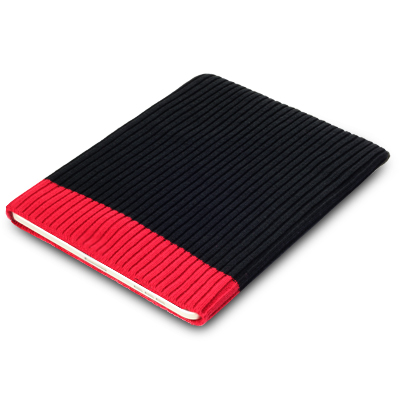 SOCK CASE FOR HP TOUCHPAD - BLACK / RED