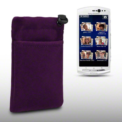 Xperia Neo V Case CLOTH POUCH CASE FOR S...
