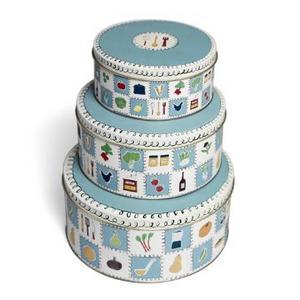 Set  Nesting Cake Tins