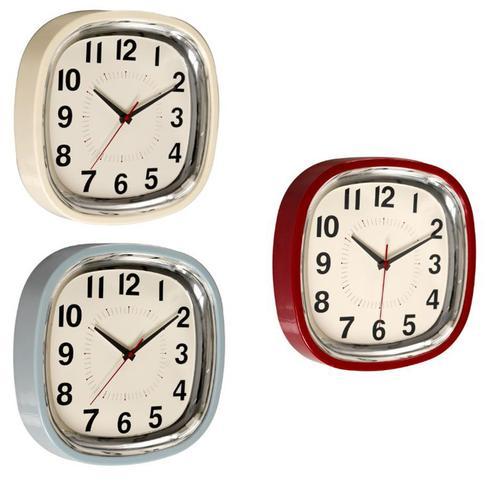 Reloj de pared comedor cocina kitsch retro vintage a os 50 - Relojes de pared retro ...
