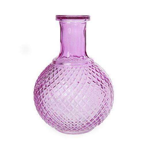 Decorative Ornate Brightly Coloured Bottle Flower Vase