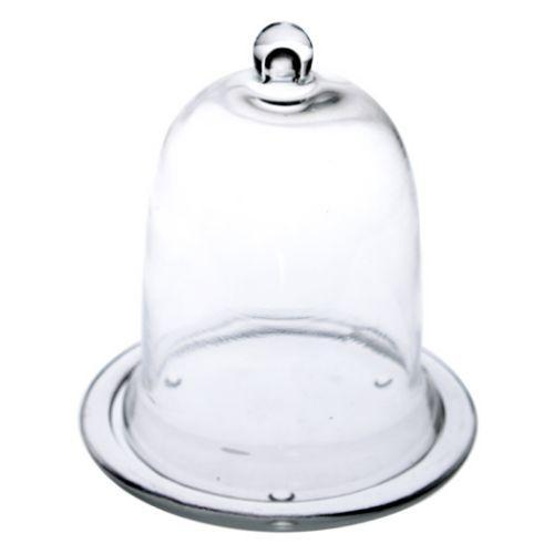 Cloche en verre avec socle taille au choix ebay - Cloche en verre avec socle ...