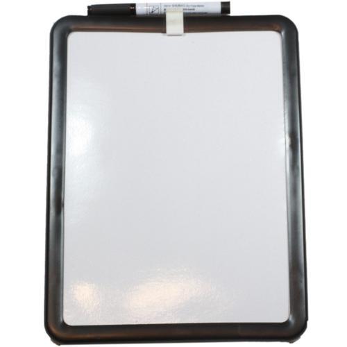 Small A4 Magnetic Dry Wipe White Board W/ Pen Drywipe ...