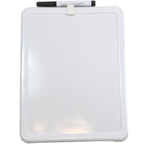 Small A4 Magnetic Dry Wipe White Board W/ Pen Drywipe ...