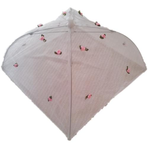 Cloche anti mouches insectes rose 30cm x 30cm for Anti mouches maison