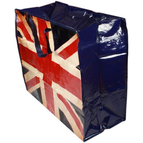 Jumbo Re Use Plastic Shopping Storage Laundry Toy Bag Ebay