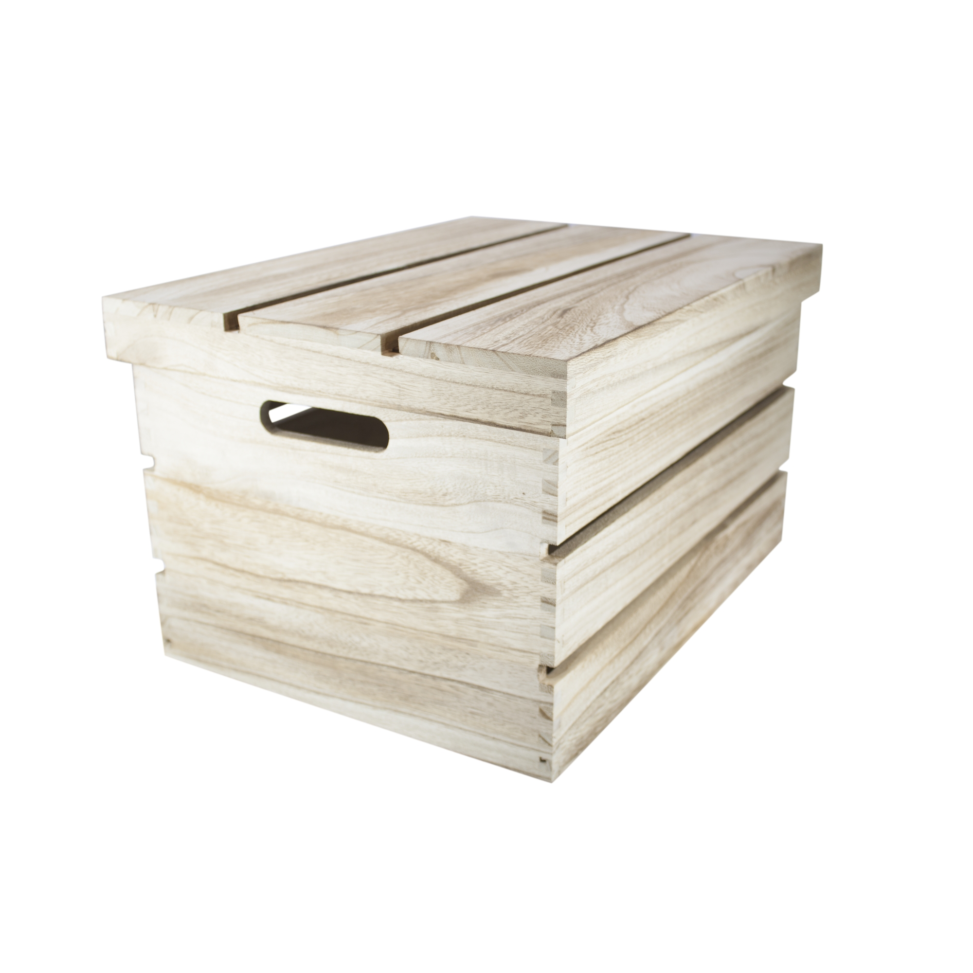 set 3 or single shabby vintage chic wooden storage crates