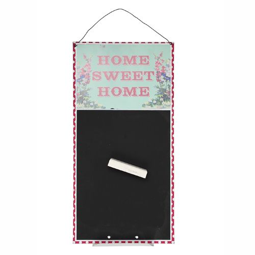 home sweet home wandtafel notiz tafel k che sammlung wand tafel metall ebay. Black Bedroom Furniture Sets. Home Design Ideas