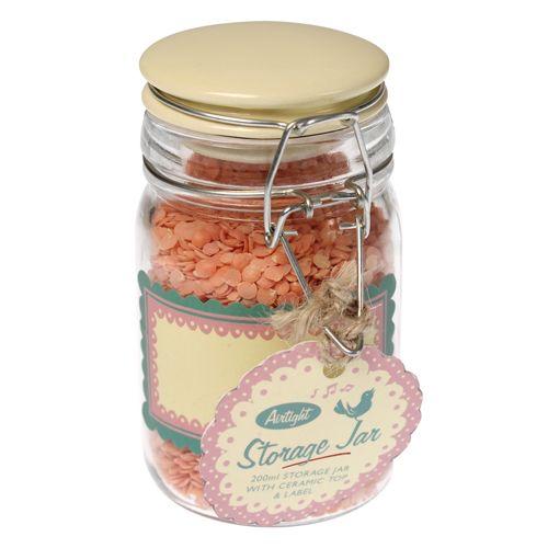 clipseal air tight glass spice storage jar. Black Bedroom Furniture Sets. Home Design Ideas