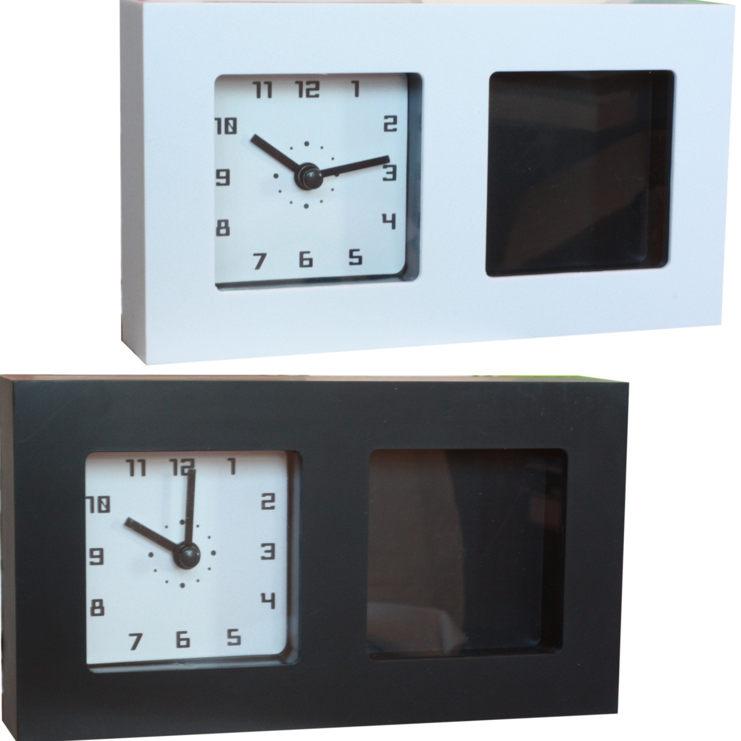 details about picture photo frame clock ideal for wall hanging bedside