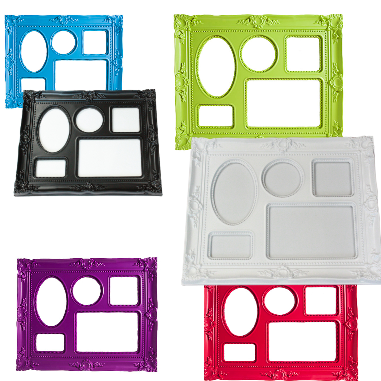 Portafoto multiplo chic stile francese versailles tavolo for Portafoto multiplo da tavolo