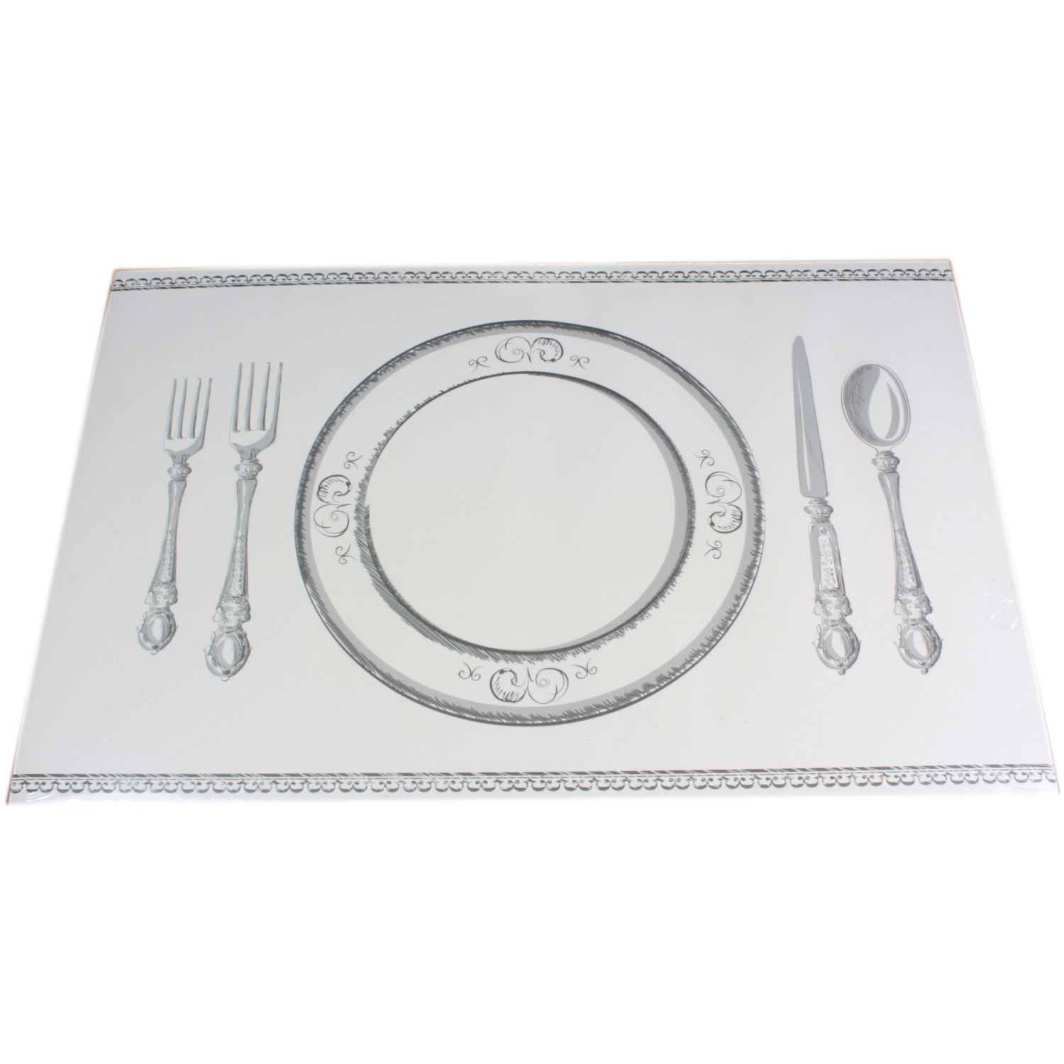 24x Banquet Style Disposable Paper Placemats Table Place