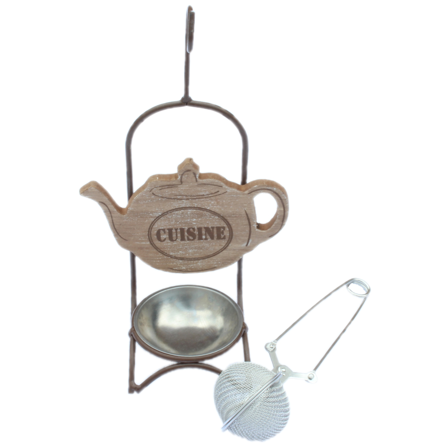 vintage shabby french chic cuisine style tea strainer. Black Bedroom Furniture Sets. Home Design Ideas
