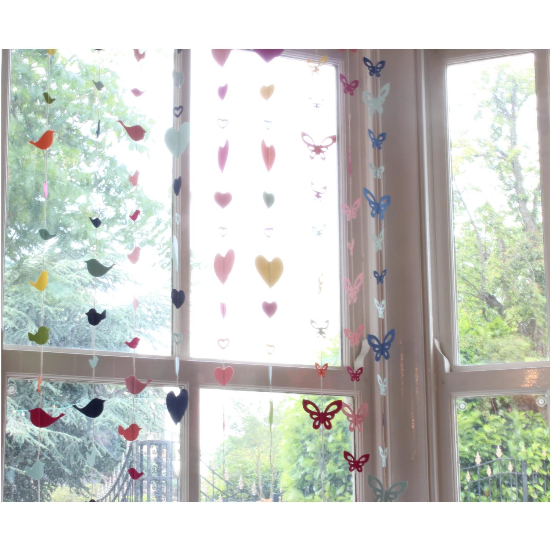 decorative hanging paper window garlands 120cm to 140cm length ebay
